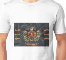 Royal Australian Regiment   -  R A R  Regimental Colours Unisex T-Shirt