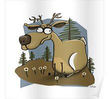 The Happy Deer Poster