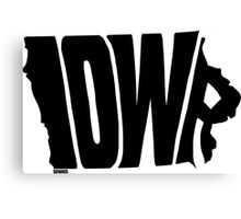 Iowa Canvas Print