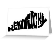 Kentucky Greeting Card