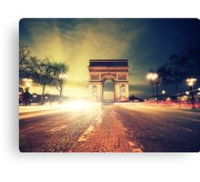 paris skyline Canvas Print