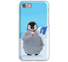 Penguin having a Fab time.  iPhone Case/Skin