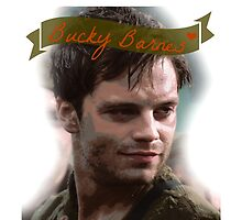 Bucky Barnes by marvelllous