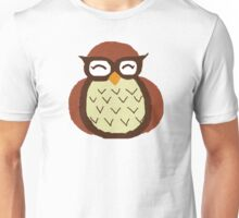 Owl paint large print Unisex T-Shirt