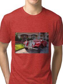 1954 MG TF Roadster Tri-blend T-Shirt