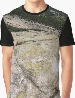 Rock Power from the Past - Ancient Thracian Ceremonial Site Belintash Graphic T-Shirt