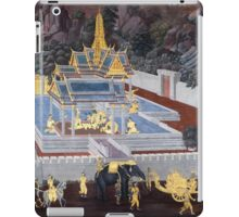 Traditional Thai Art iPad Case/Skin