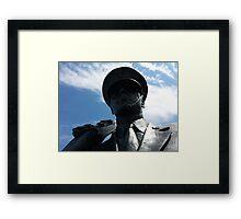 The Air Force Memorial Honor Guard Sculpture Framed Print
