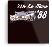 Jaguar Silk Cut Le Mans Metal Print