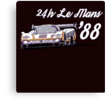 Jaguar Silk Cut Le Mans Canvas Print