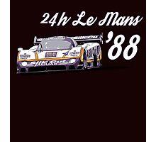 Jaguar Silk Cut Le Mans Photographic Print