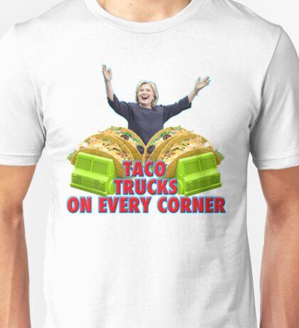 Taco Trucks On Every Corner Unisex T-Shirt