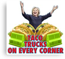 Taco Trucks On Every Corner Canvas Print