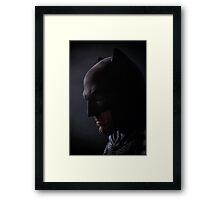 Ben Affleck - New Batman & Superman  Framed Print