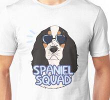 SPANIEL SQUAD (tricolor) Unisex T-Shirt