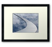 The United States Air Force Memorial Plate No.# I  Framed Print