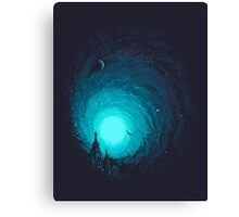 Calm Night To Fly Canvas Print