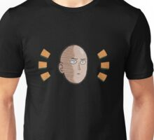 one_punch_man_face Unisex T-Shirt