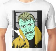 The Smoker (Redbubble Exclusive 'Ghostface' Variant) Unisex T-Shirt