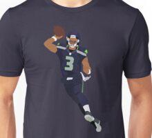 Russell Wilson Thorwing Art Unisex T-Shirt