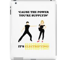 GREASE It's Electrifying! Design iPad Case/Skin