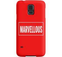 Isn't it Marvellous? Samsung Galaxy Case/Skin