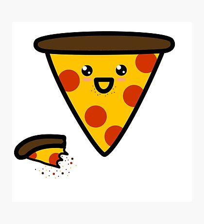 Cannibal Pizza Photographic Print