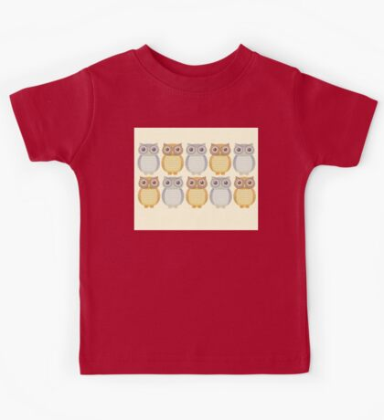 Owl Collection Kids Tee