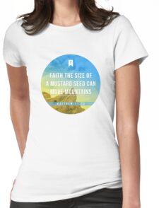 Matthew 17:20 Womens Fitted T-Shirt