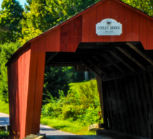 Cooley Covered Bridge Sticker