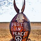 Rust in Peace Bomb  by George Petrovsky