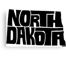 North Dakota Canvas Print