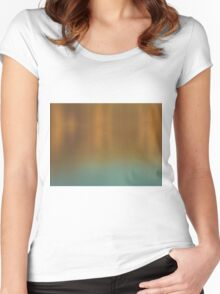 Sunset tones Women's Fitted Scoop T-Shirt
