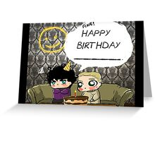 Chibi!Lock Birthday Card Greeting Card