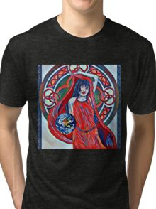 Gaia Is Coming Impression Tri-blend T-Shirt