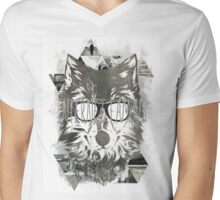 Internet Famous Mens V-Neck T-Shirt