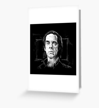 Nick Cave, A Portrait Greeting Card