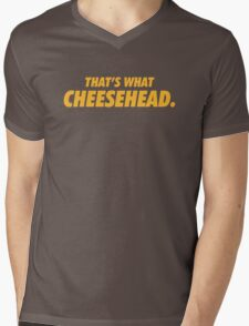 Packers That's What Cheesehead. Mens V-Neck T-Shirt