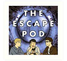 Escape Pod Square Art Print