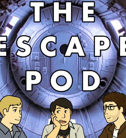 Escape Pod Square Sticker