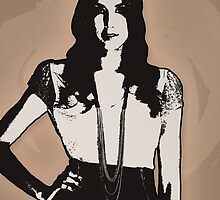Spencer Hastings: Coffee Design by Vixetches