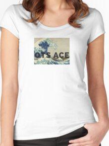 OTS ACE MUSIC MERCH  Women's Fitted Scoop T-Shirt