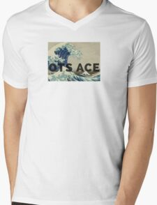 OTS ACE MUSIC MERCH  Mens V-Neck T-Shirt