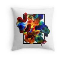 Blown Cutout Throw Pillow