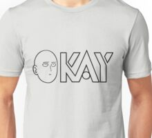 one_punch_man_okay Unisex T-Shirt