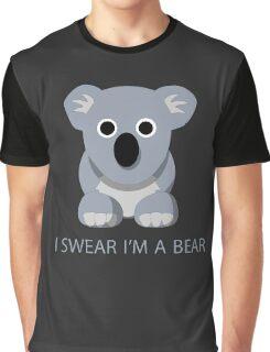 I swear Im a Bear cute funny Koala cartoon T-Shirt Graphic T-Shirt