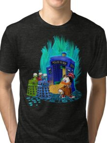 The Ducktor Tales Tri-blend T-Shirt