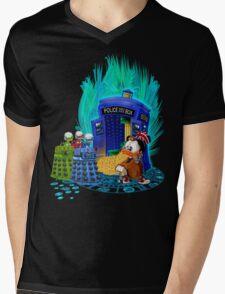 The Ducktor Tales Mens V-Neck T-Shirt