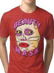 Alyssa's Beauty Mask Tri-blend T-Shirt