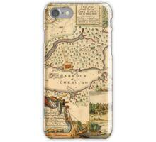 Map Of Halifax 1751 iPhone Case/Skin